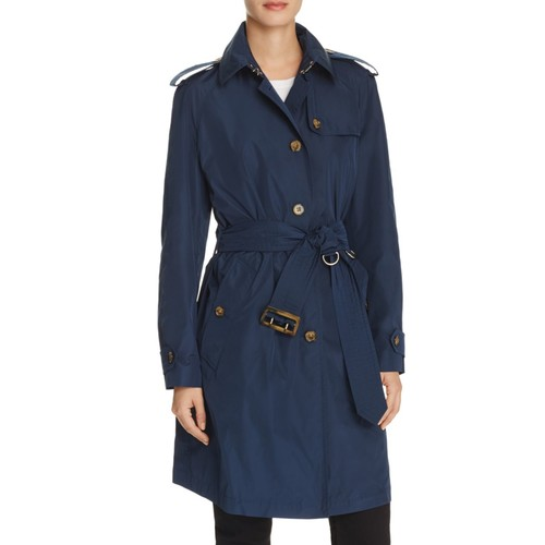 BURBERRY Renwick Button Front Trench Coat
