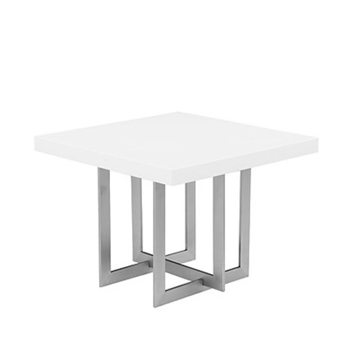 Orren Ellis Onshuntay End Table; White