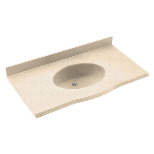 Swanstone 25W x 22.5D in. Europa Solid Surface Vanity Top