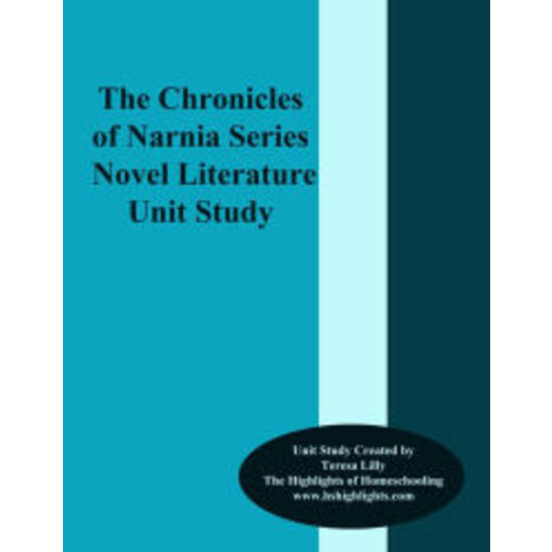 The Chronicles of Narnia Series Novel Literature Unit Study