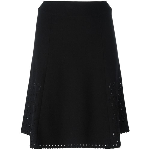 KENZO Perforated A-Line Skirt