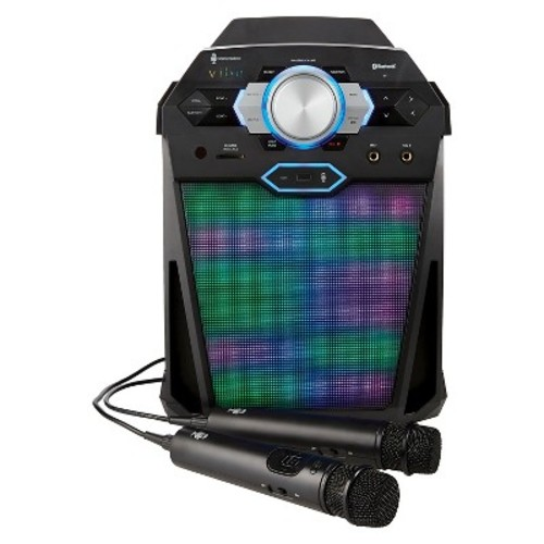 Singing Machine Vibe Hi-Def Karaoke System - Black (SDL366)