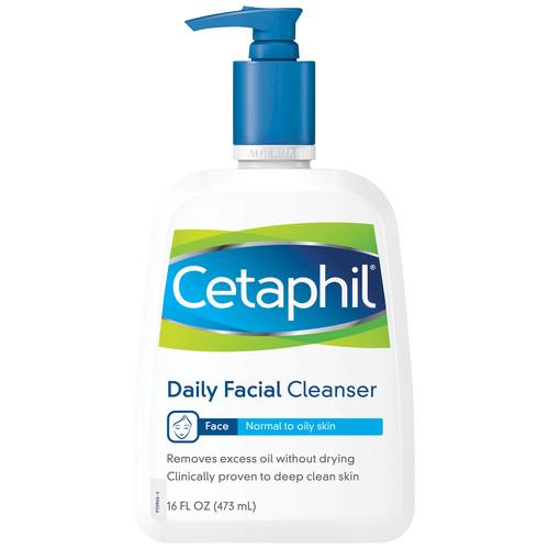 Cetaphil Daily Facial Cleanser, 16 fl oz (473 ml)