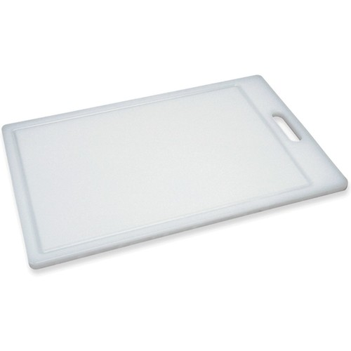 Prep Solutions by Progressive Cutting Board, Juice Grooves, Large Thick Chopping Board, Dishwasher Safe, Measures 17.38