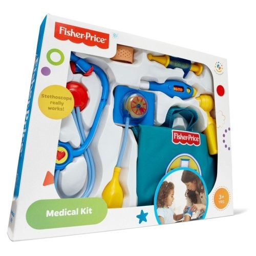 Fisher-Price Medical Kit: Toys & Games [Standard Packaging]