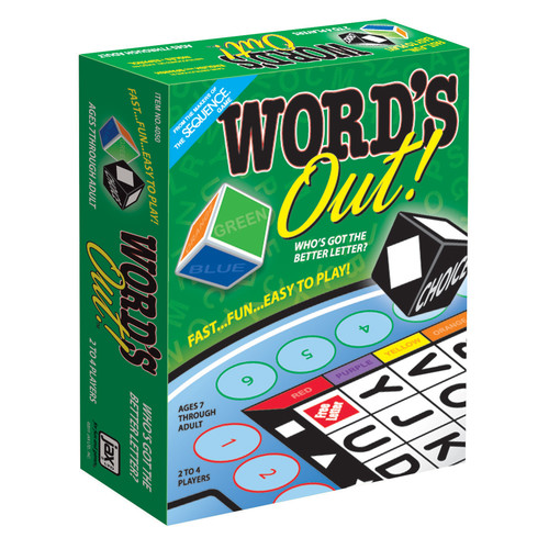 Jax Ltd Games Word's Out! Game