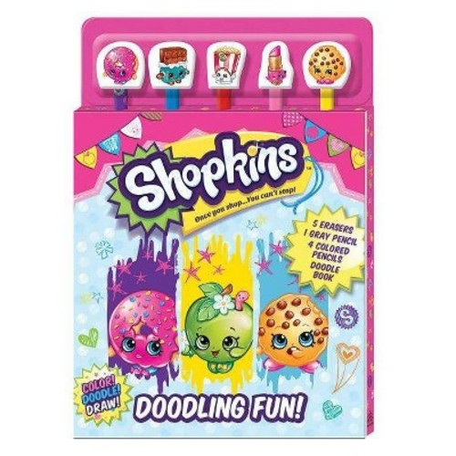 Shopkins Doodle Fun Coloring and Activity Book