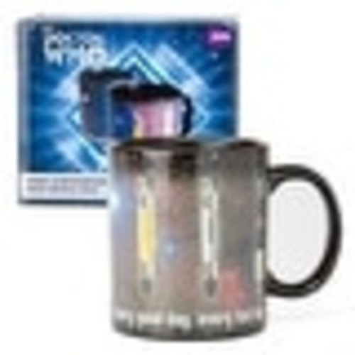 Doctor Who Sonic Screwdriver 12oz Heat Reveal Mug - Multi