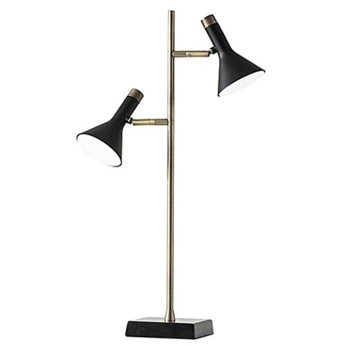 Adesso Bennett Desk Lamp in Black
