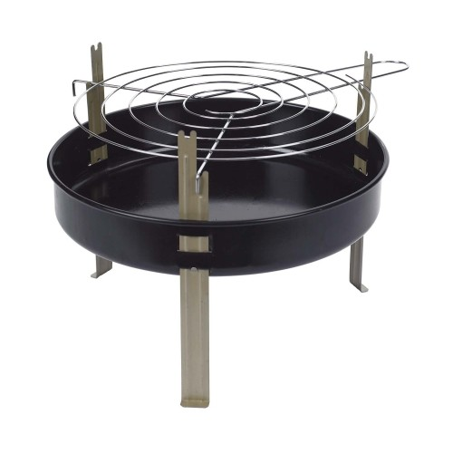 Marsh Allen Table Top 12 inch Charcoal 8 in. H Grill Black(5)