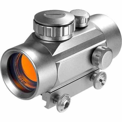 Barska 30mm Red Dot Scope, Silver