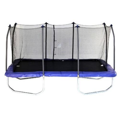 Skywalker Trampolines 15 Foot Rectangle Trampoline and Enclosure - Blue