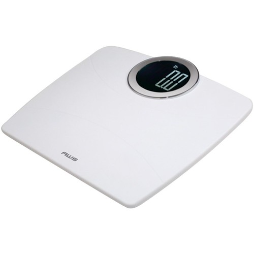 American Weigh Scales - Digital Bathroom Scale - White