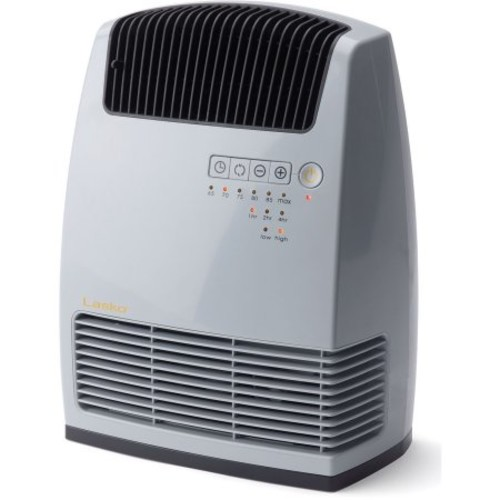 Lasko CC13251 Electronic Ceramic Room Heater and Warm Air Motion Technology, White