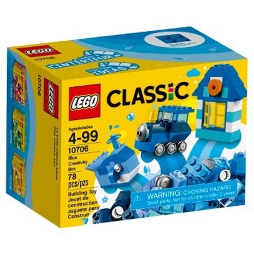 LEGO Classic Blue Creativity Box 10706