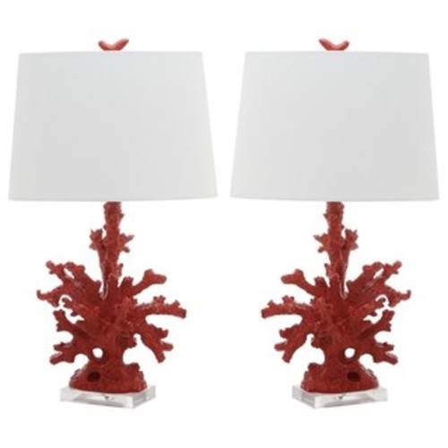 Safavieh Lighting 28-inch Redecoral Branch Table Lamp (Set of 2)