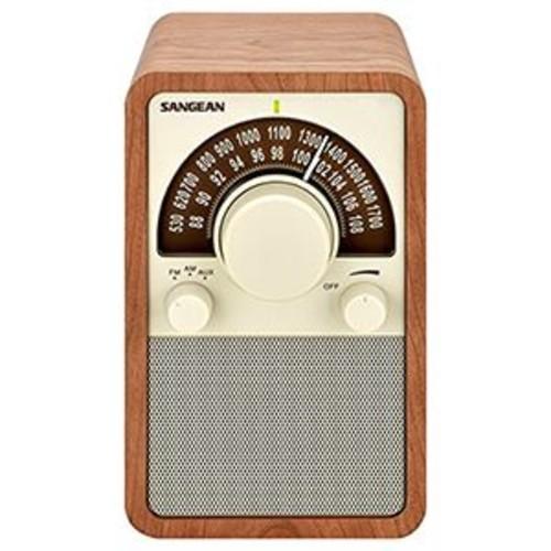 SANGEAN WR-15WL AM/FM TABLETOP RADIOS (WALNUT)