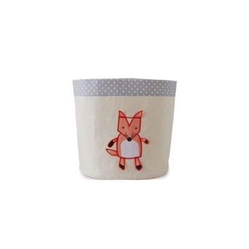 Small 3-D Fox Storage Cubes & Bins