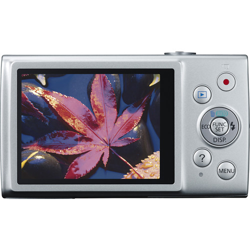 Canon PowerShot 170 IS 20 Megapixel Compact Camera - Silver
