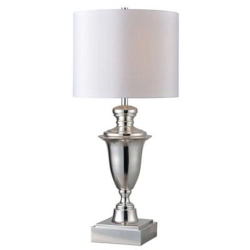 Kenroy Home McClelland Table Lamp in Polished Nickel