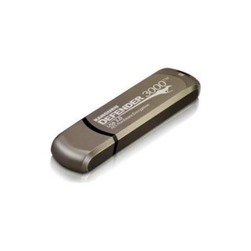 Kanguru Defender3000 32GB SuperSpeed USB 3.0 Hardware Encrypted USB Flash Drive