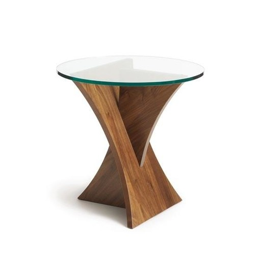 Planes Round End Table