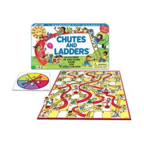 Winning Moves Games Winning Moves Classic Chutes and Ladders
