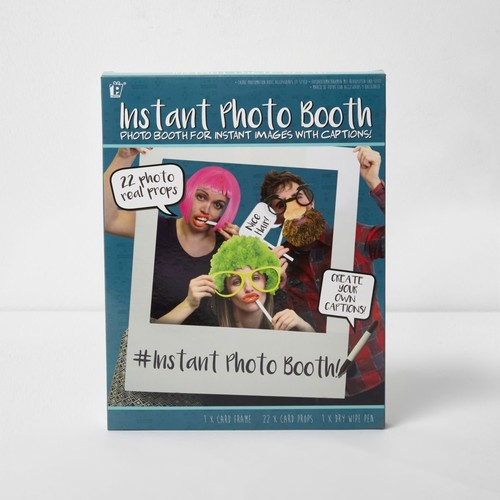 Instant photo booth props