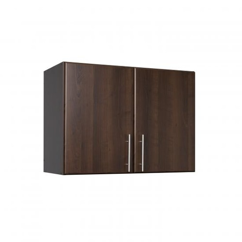Prepac Espresso Elite 32Inch Stackable Wall Cabinet