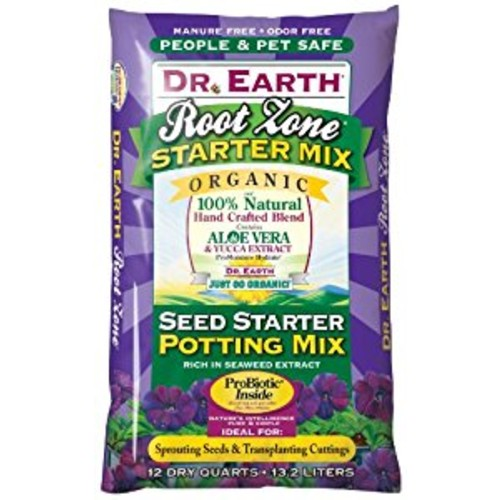 Dr. Earth 801 Root Zone Seed Starter, 12-Quart