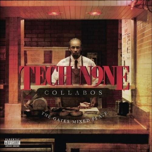 Tech n9ne collabos - Gates mixed plate [Explicit Lyrics] (CD)