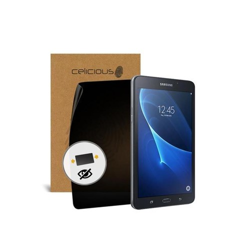 Celicious Privacy Samsung Galaxy J Max 2-Way Visual Black Out Screen Protector
