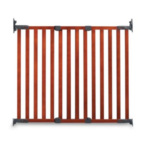 KidCo Angle Mount Wood Safeway Gate in Cherry