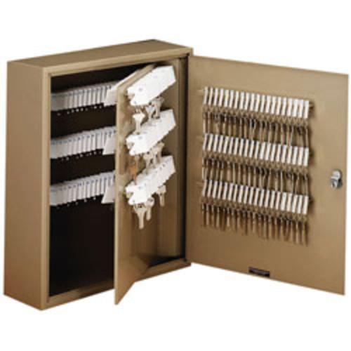 STEELMASTER Unitag 240-Key Cabinet, 51% Recycled, Sand