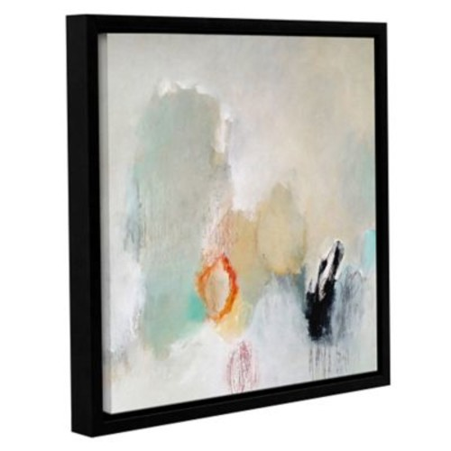 Varick Gallery 'Never Pass Here' Framed Painting Print on Canvas; 18'' H x 18'' W x 2'' D