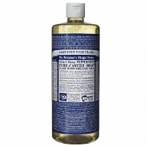 Dr. Bronner's Hemp Pure-Castile Soap Peppermint