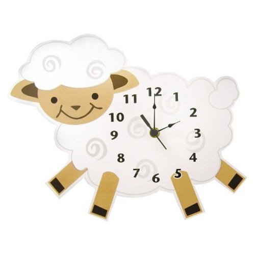 Trend Lab Lamb Wall Clock