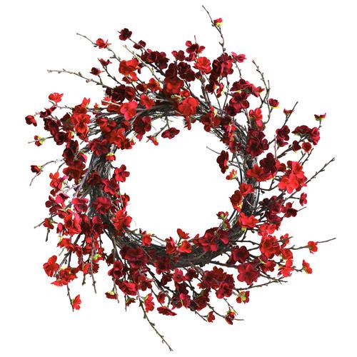 24 Plum Blossom Wreath