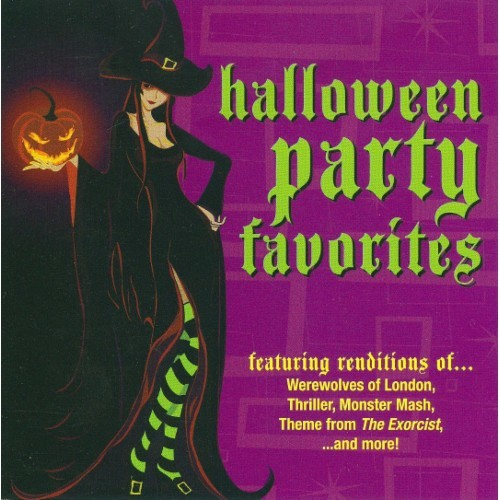 Halloween Party Favorites [CD]