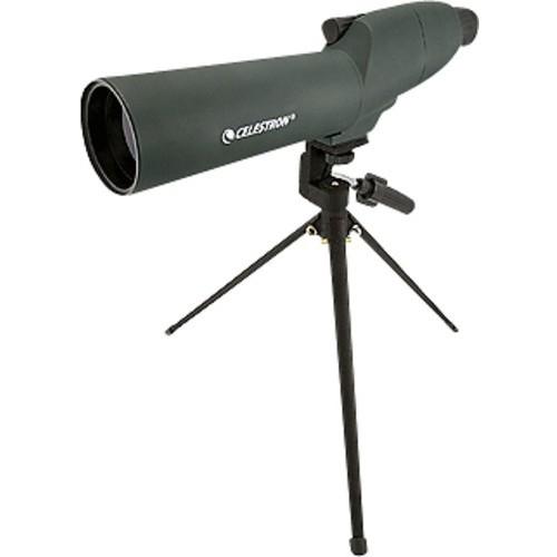 Celestron - UpClose 20-60x 60mm Spotting Scope - Green