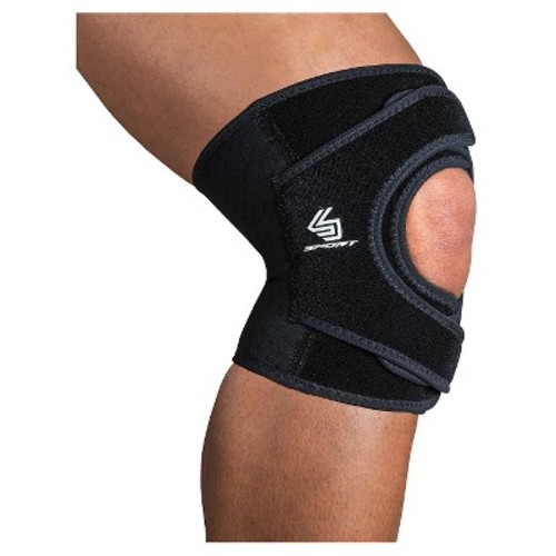 Shock Doctor Knee Support with Dual Wrap - Large