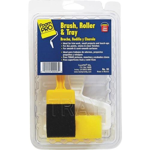 FoamPro 3-Piece Trim Roller Kit - 93