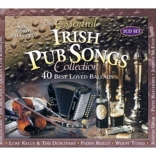 The Essential Irish Pub Songs Collection [CD]