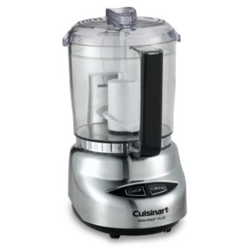 Cuisinart Mini-Prep Plus - 4-Cup Food Processor - Brushed metal - DLC-4CHB