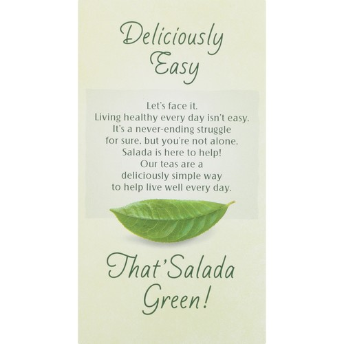 Salada, Tea Green Decaf, 40-Bag (6 Pack)
