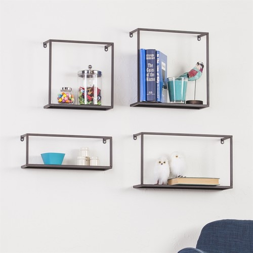 Holly & Martin Iron Wall Mounted Shelving