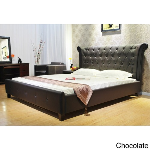 Greatime King Upholstered Bed