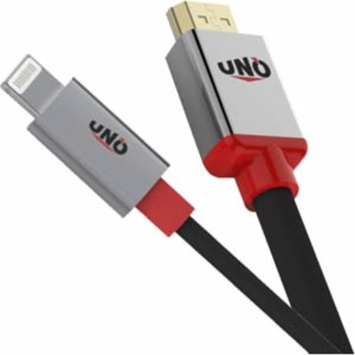 Sumar UNO Innovations MFi Certified Lightning to USB Cable 3ft.