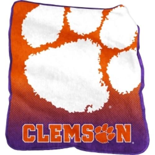 Clemson Tigers Raschel Throw