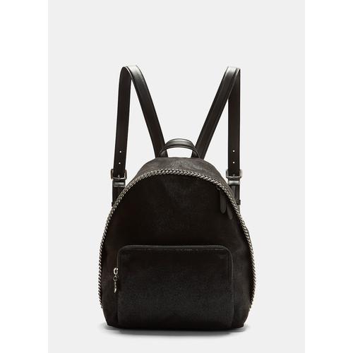 Falabella Shaggy Deer Backpack in Black